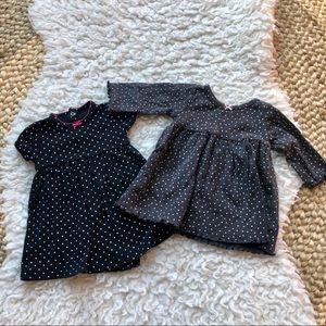Carter's Polka Dot Dress Pair